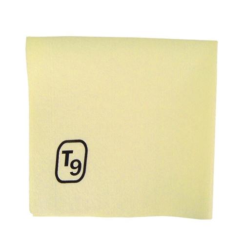 T9 Disposable Microfibre Cloth 40 x 40cm Yellow