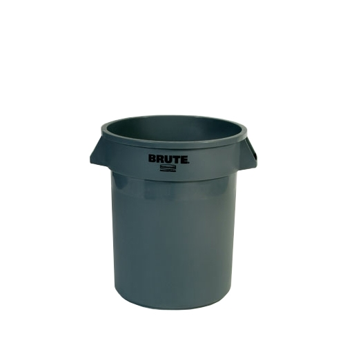 Brute Round Container (No Lid) 75.7Ltr Grey