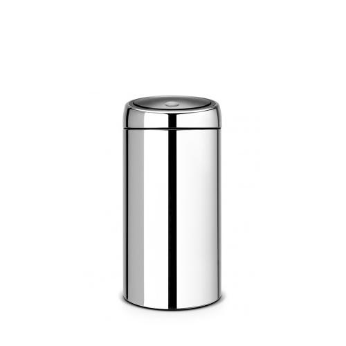 Brabantia Brilliant Steel Touch Bin 45Ltr