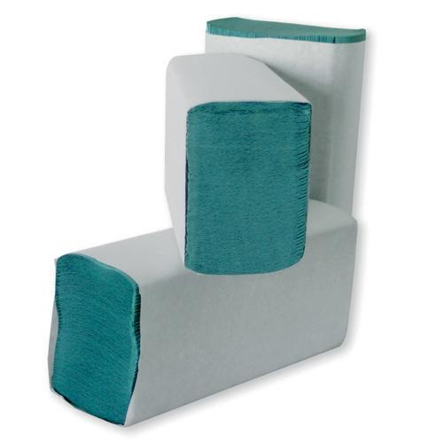 Leonardo Multi Pack 1 Ply Interfold Hand Towel 194 Sheet Green