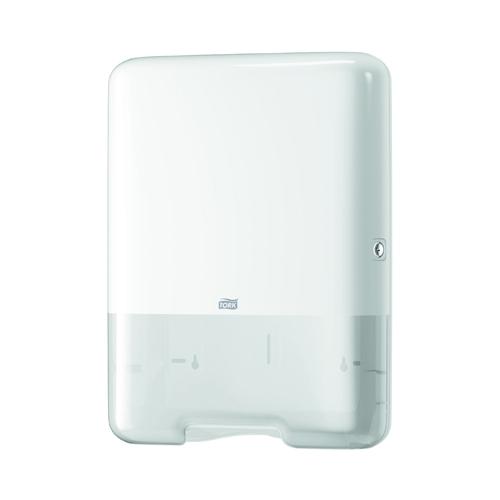 Tork Singlefold/C Fold Hand Towel Dispenser 33.3 x 13.6 x 43.9cm White