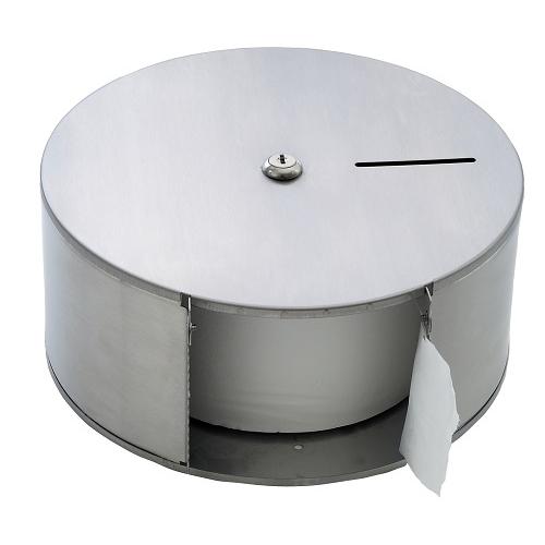 Stainless Steel  Mini Jumbo Dispenser 59mm core Silver