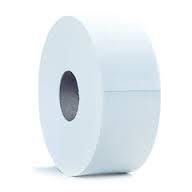 Alliance Jumbo  2 Ply Toilet Roll 62mm Core White