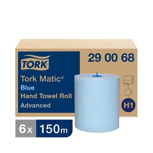 Tork Matic® Soft Hand Towels 2 Ply Blue