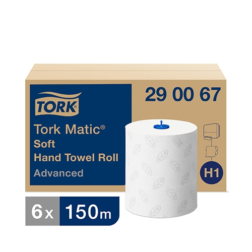 Tork Matic® 2 Ply Soft Hand Towel Roll 150m White