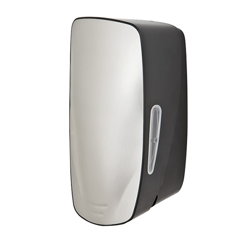 Mercury Refillable Liquid Soap Dispenser 900ml Silver