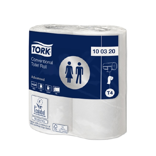 Tork 2 Ply Toilet Roll 320 Sheets White
