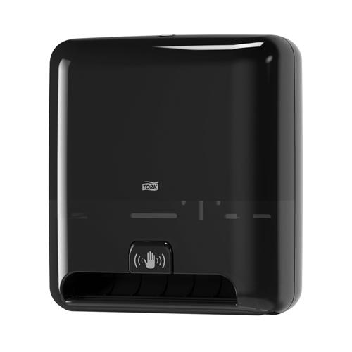 Tork Matic®  Hand Towel Roll Dispenser with intuition sensor Black