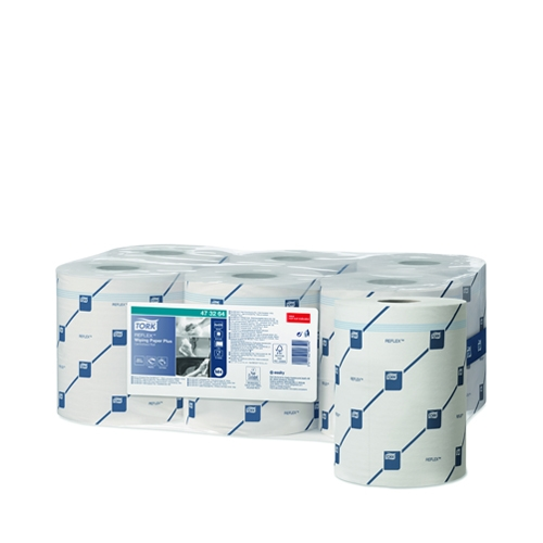 Tork Multi Pack Wiping Paper Plus 2 ply Reflex  Centrefeed 150.2m White