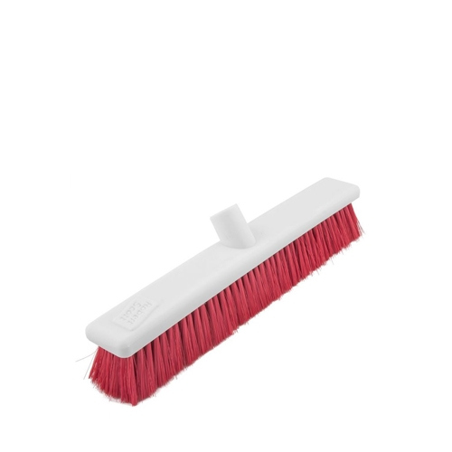 Abbey Hygiene Soft Broom Head 30cm Red