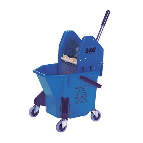 Traditional Combo Bucket & Wringer 20Ltr Blue
