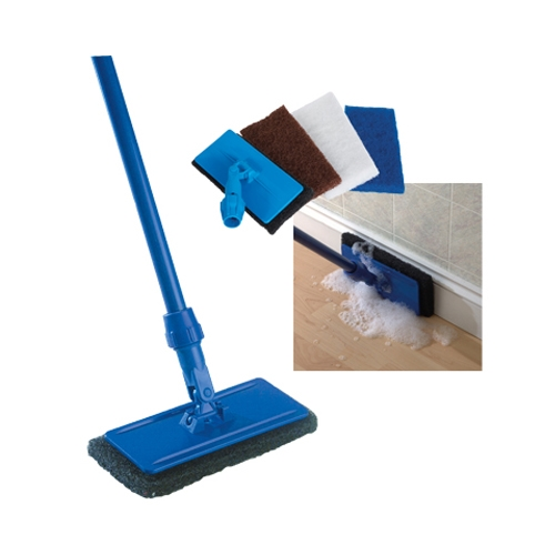 Octopus  Edge & Floor Scrub Pad Cleaning Tool HOLDER ONLY Blue