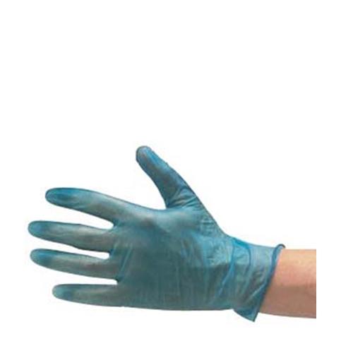 Powder Free  Vinyl Gloves Medium Blue