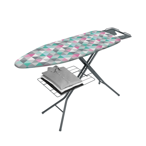 Classic Ironing Board 35 x 110cm Grey & White