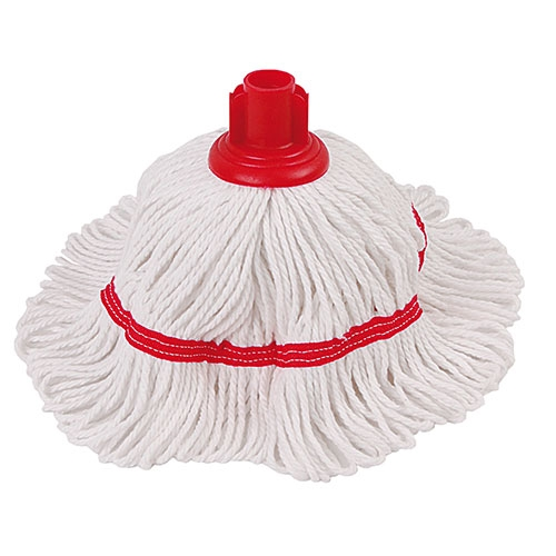 Hygiemix Mini Mop Head 200g Red