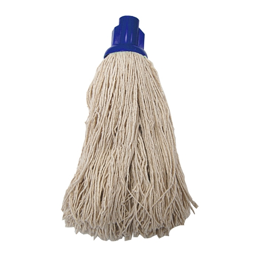 Socket Push On Twine Mop Head Blue