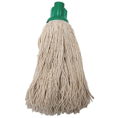 Socket Push On Twine Mop Head Green
