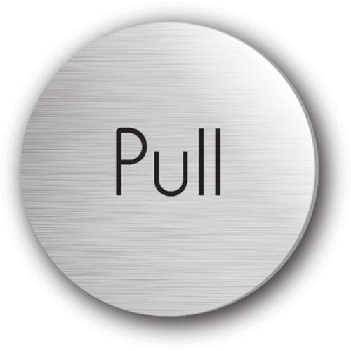 Mileta Pull Symbol Rigid Disc 75mm  Silver