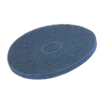 "Floor Spray Cleaning Pad 15"" Blue"