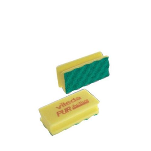 Vileda Multi Pack Pur Active Scourer Yellow