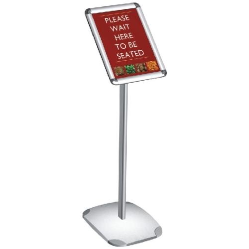 Mileta Free Standing  Display Frame A3 Silver