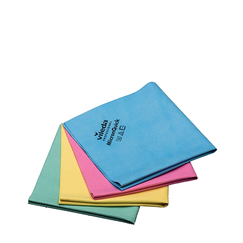 Vileda Multi Pack Micron Quick Cloth 40cm x 38cm Yellow