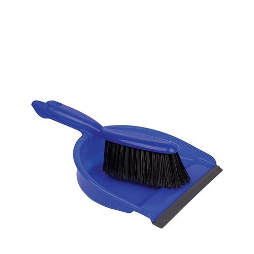 Soft Dustpan & Brush Blue