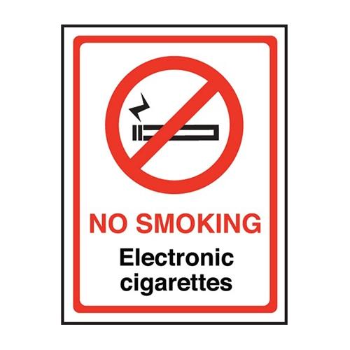 Mileta No Smoking In This Doorway Sign S/A 200x150mm 200 x 150mm
