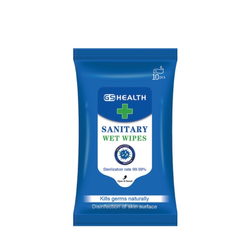 Anti Bacterial Hand Wipes 10 wipes per pack