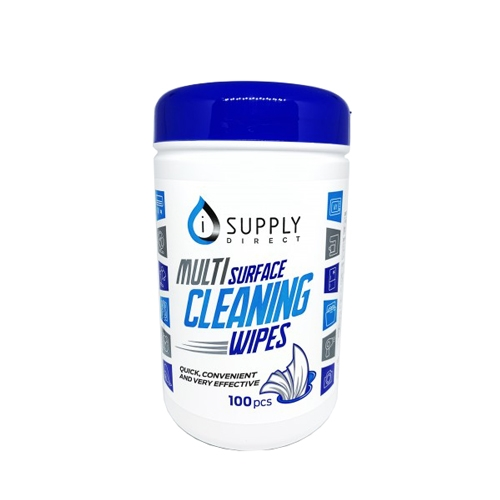 Multi Surface Cleaning Wipes 100 wipes per tub