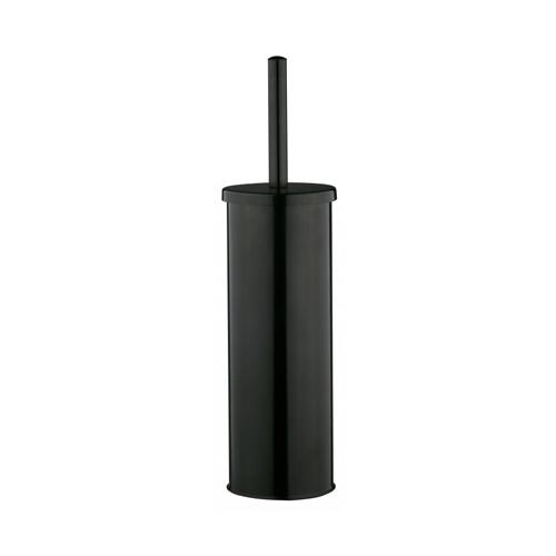 Closed Toilet Brush & Holder Black  (Each)