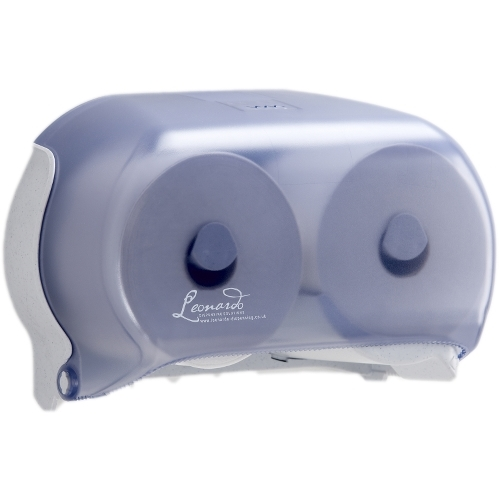 Leonardo Versa  Toilet Roll Dispenser Twin Blue