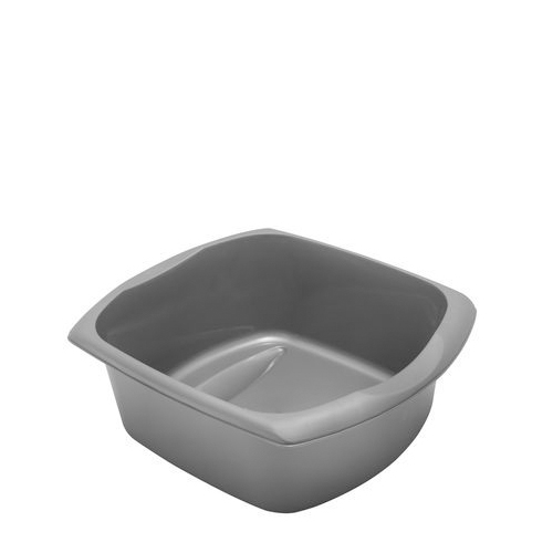 Addis Rectangular Washing Up Bowl 38cm x 14cm x 32cm Metallic