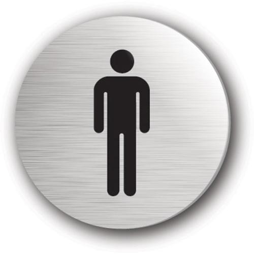 Mileta Gents Symbol Rigid Disc 75mm Silver