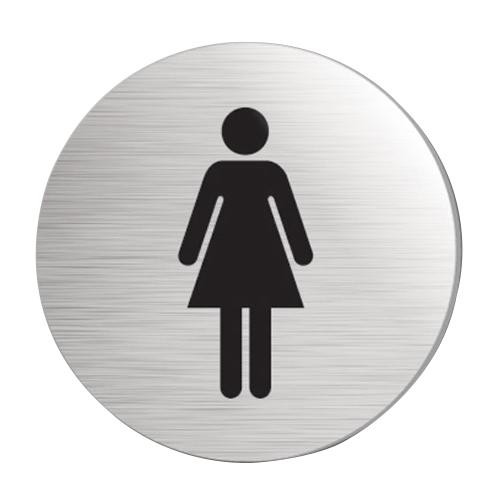 Mileta Ladies Symbol  Rigid Disc 75mm Silver