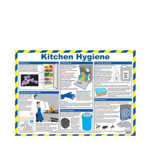 Kitchen Hygiene  Laminated Poster 420 x 590mm Printed