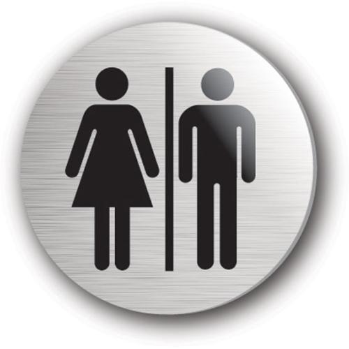 Mileta Toilets Symbol Rigid Disc 75mm Silver
