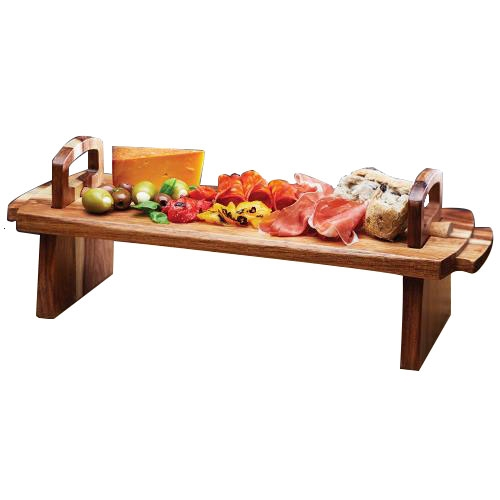 Kitchen Craft Acacia Artesa Antipasti Platter Large  Wood