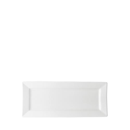 Anton Black Rectangular Plate