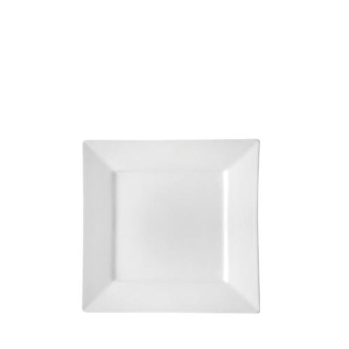 Anton Black Deep Square Plate