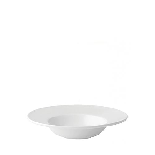 Utopia Anton Black Rimmed Soup Bowl