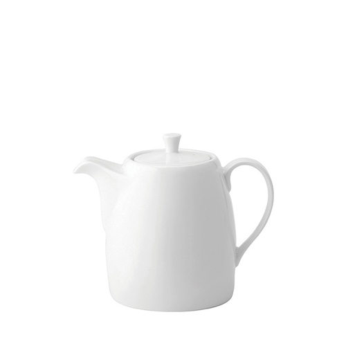 Utopia Anton Black Tea Pot 14oz White