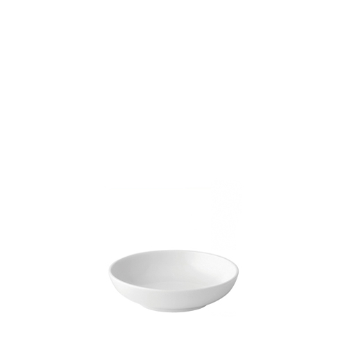 "Utopia Anton Black  Butter Tray 4"" White"