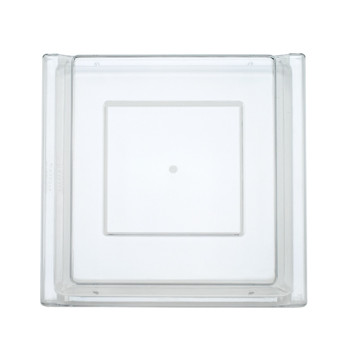 Churchill Alchemy Square Polycarbonate Lid 30.3 x 30.3cm Clear