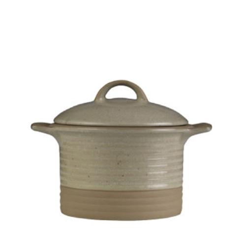 Churchill Art de Cuisine Igneous Cocotte and Lid 12.3oz Stone