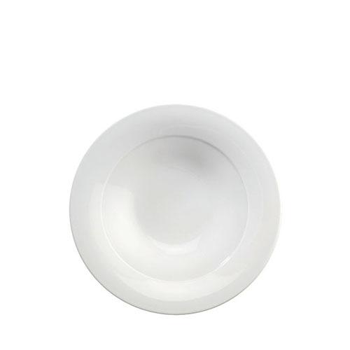 Churchill Art De Cuisine Menu  Mid Rim Soup Bowl 22.8cm  White