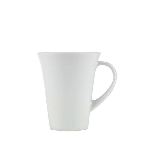 Churchill Art De Cuisine Menu  Flared Mug 10.5oz White