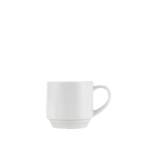 Churchill Art De Cuisine Menu  Stacking Tea Cup 7.5oz White