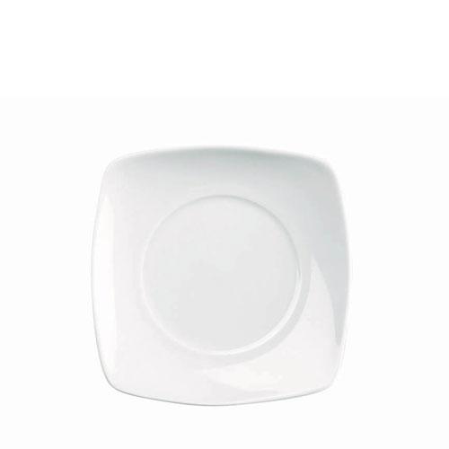 Churchill Art De Cuisine Menu  Small Square Plate 17.5cm White