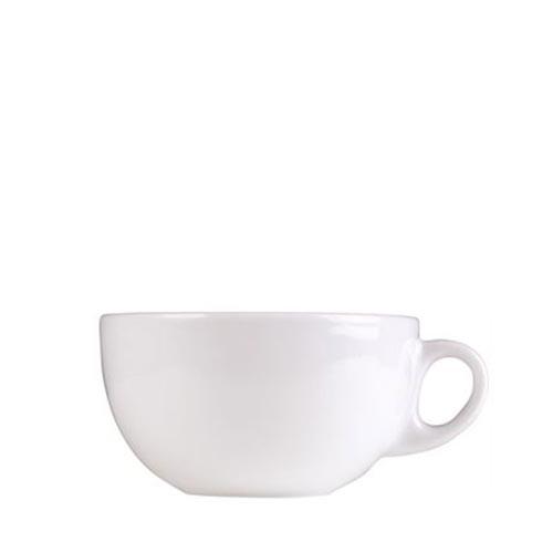Churchill Art De Cuisine Menu  Cappuccino Cup 12oz  White